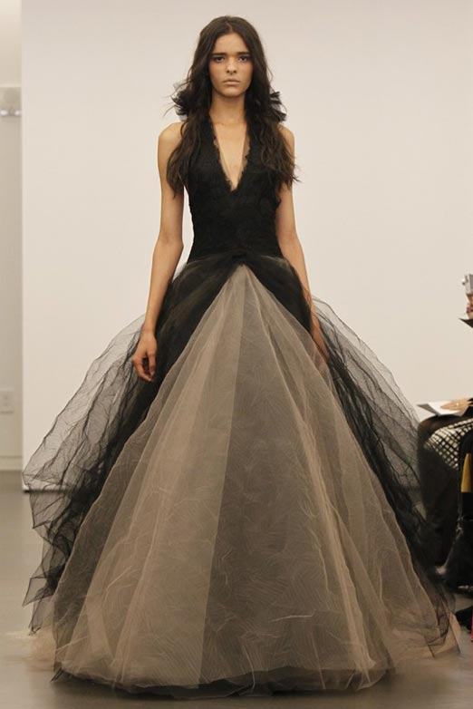 Vera-Wang-Black-Wedding-Dresses-Collection