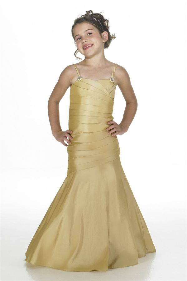 Junior Bridesmaid Dresses For Cute Angels