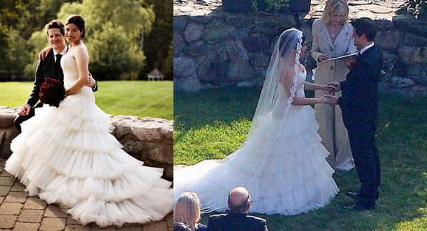 America Ferrera Wedding Dress