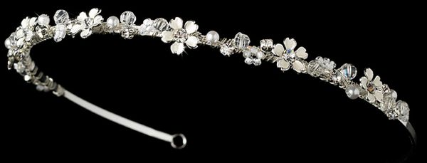 Baby's Breath bridal tiara