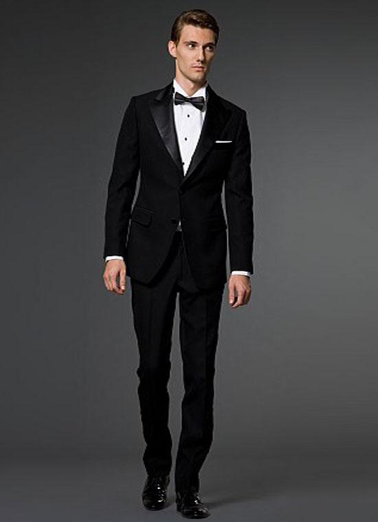 Basic tuxedo wearing rules