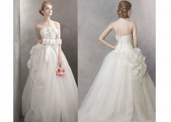 How To Basket Weave Tulle : Vera wang s wedding dresses to suit the bride in you