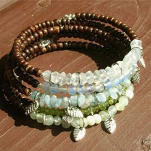 Beach Glass Bangles