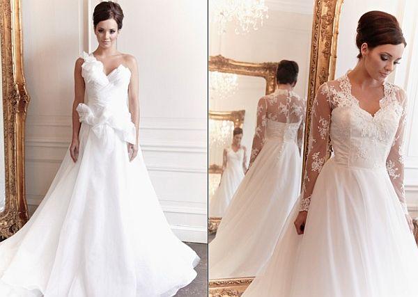 Claire Mischevani's bridal collection