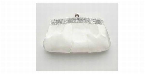 Crystal Trimmed Bridal Clutch Style HBFANTASTIC