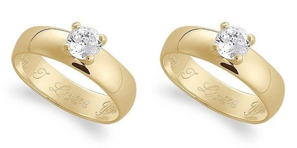 Exquisite wedding rings under $100 Wedding Clan