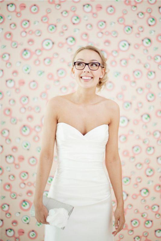 Eyewear ideas for wedding day