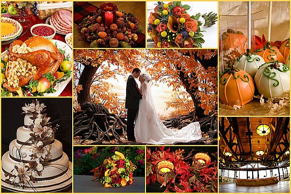 Fall wedding theme