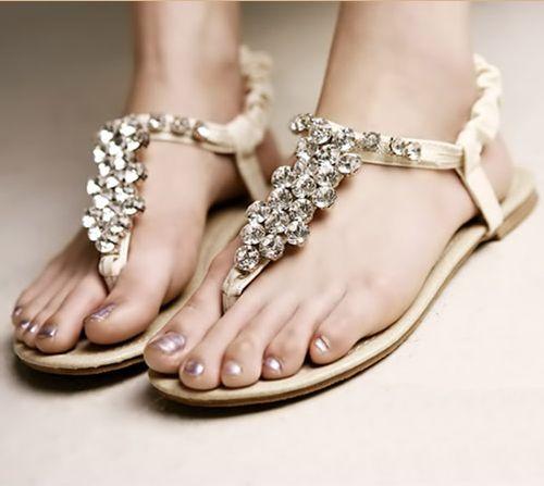 Beach Wedding Shoes: 7 Most Beautiful