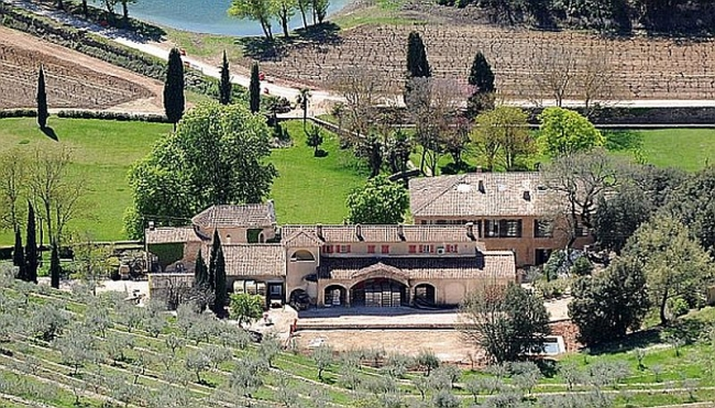 French retreat owned by Brad and Angelina