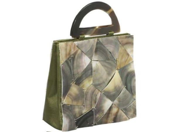 Global Elements Shattered Glass Handbag