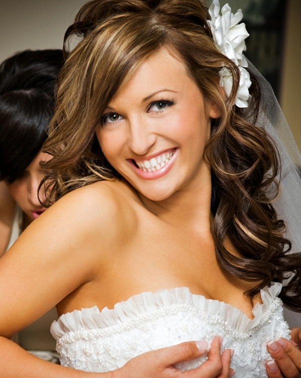 Remarkable Half Up Half Down Wedding Hairstyles for Medium Hair 600 x 754 · 147 kB · jpeg