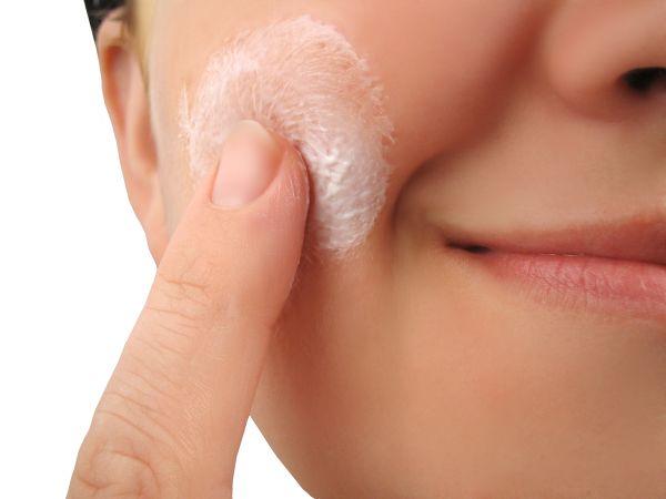 Keep pimples away