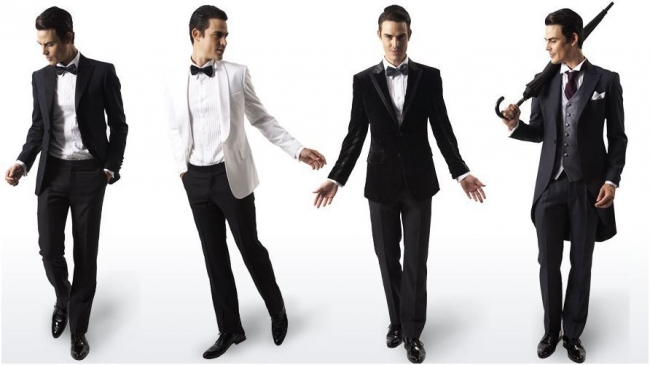 Men's wedding formal wear