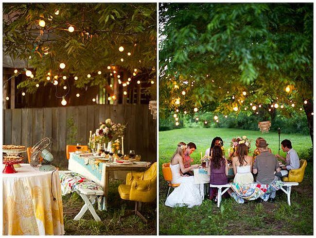 Lighting Ideas For Outdoor Wedding : Best outdoor wedding ideas  Wedding Clan