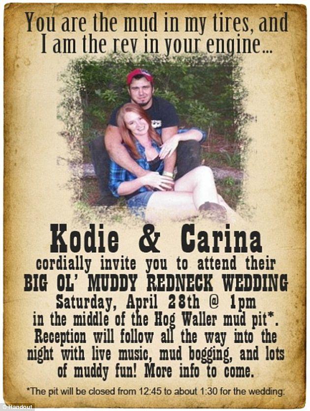 17 Best images about Brandis redneck wedding ideas – Redneck Party Invitations