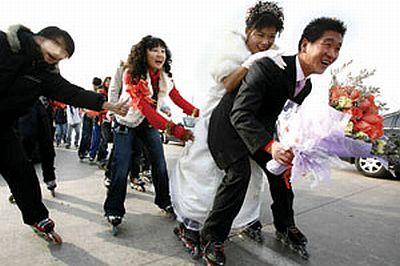 roller skating wedding 2 49
