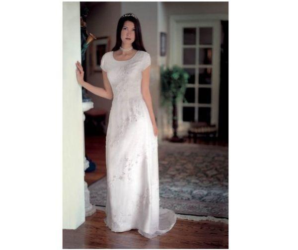 Silk Informal Bridal Gown Wedding Dress