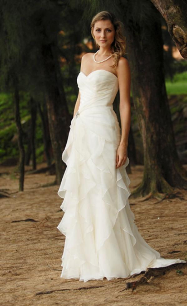european informal wedding dresses