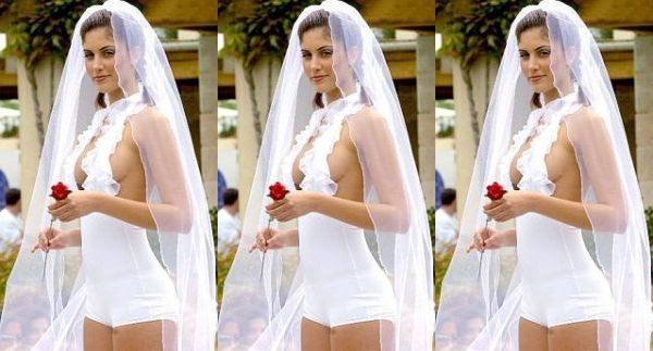 Swimsuit Wedding Dress