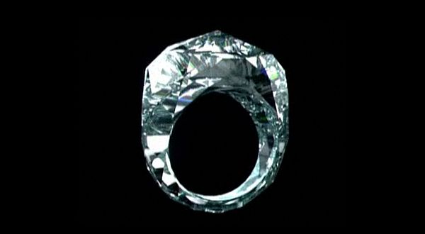 The world's first all-diamond ring