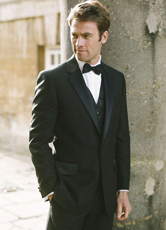 Tuxedo for short and thin men