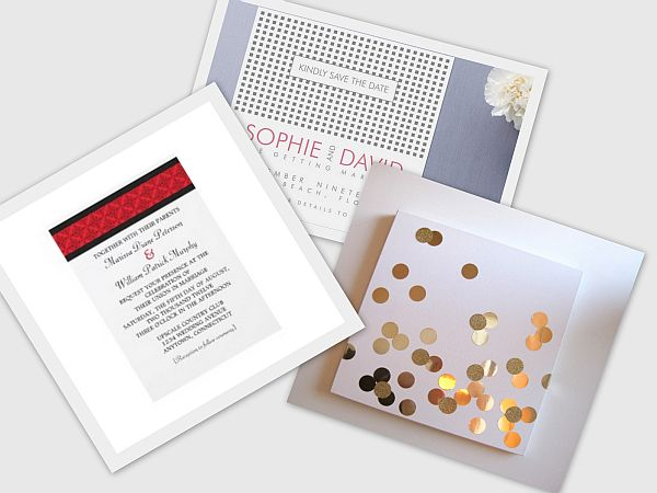 Urban Chic Invitation Card