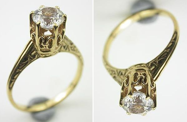 Best antique style engagement rings Wedding Clan