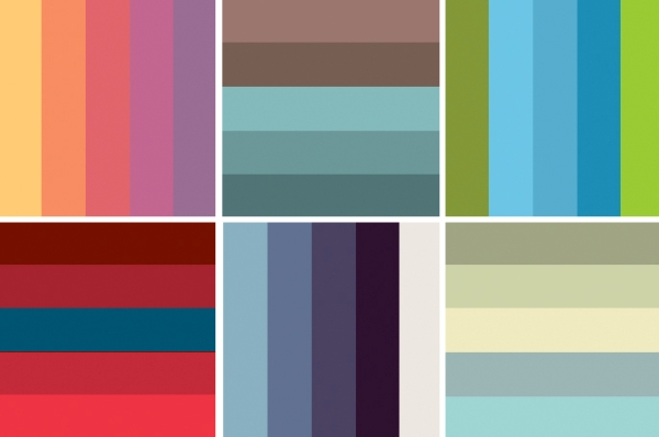 Wedding palette color