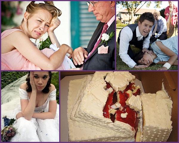 wedding reception disasters