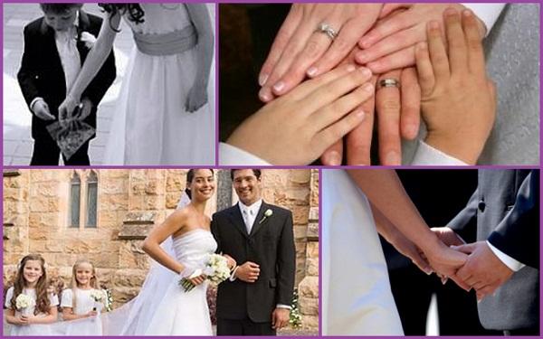 Wedding vows which include children