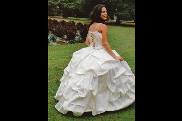 Wholly Jo's bridal dress
