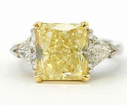 Yellow Diamond Wedding Ring Yellow Diamond Ring Fancy Diamond Jewelry Image Title