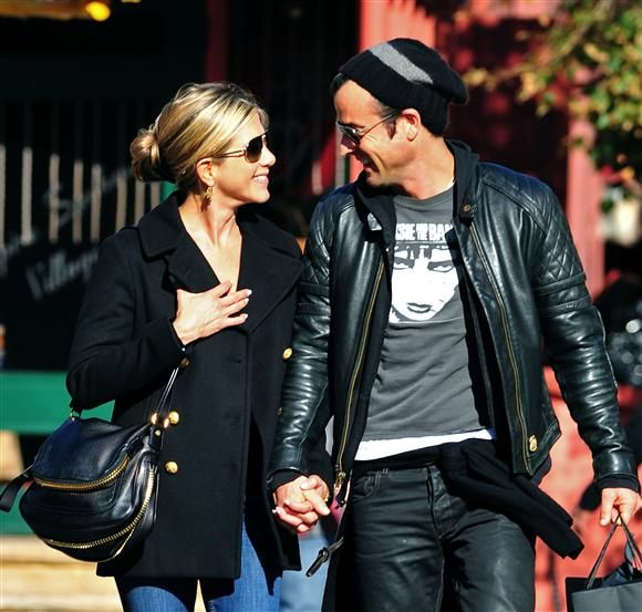 Janifer Aniston and Justin Theroux