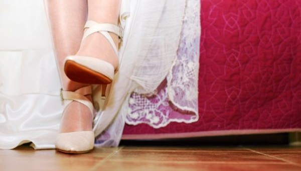 Choosing the prefect wedding shoes