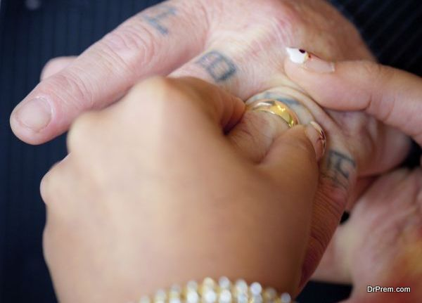 wedding ring tattoo 5