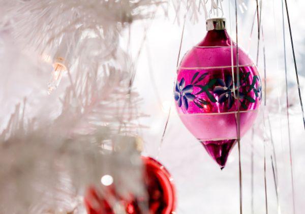 Pink Christmas Ornament