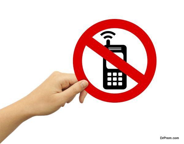 stay phone-free