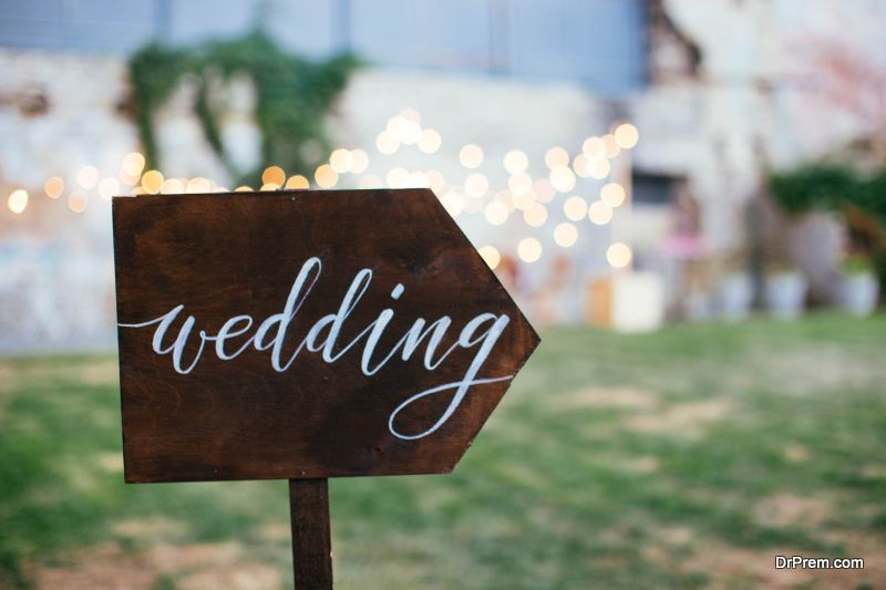perfect wedding backdrop