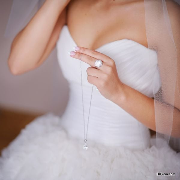 Sponsor her wedding gown