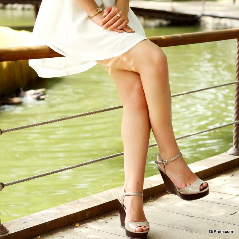 wear stilettos for your wedding