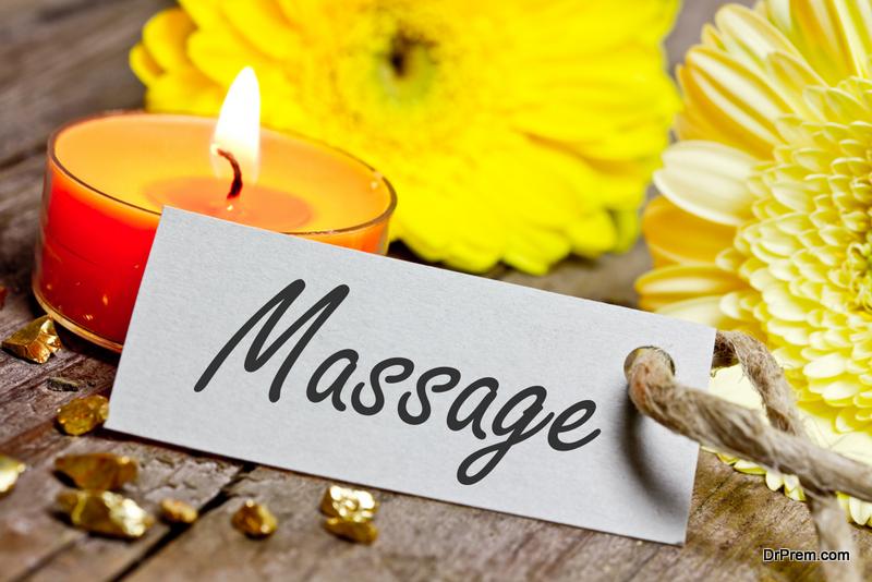 A joint massage voucher
