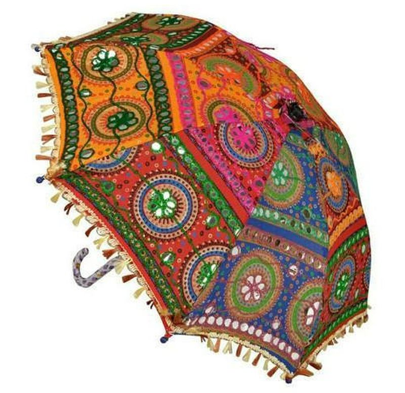 Handcrafted umbrella