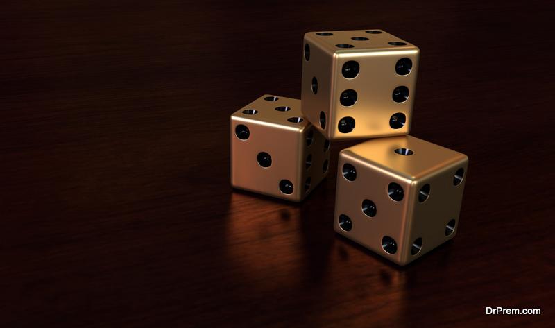 six-sided dice