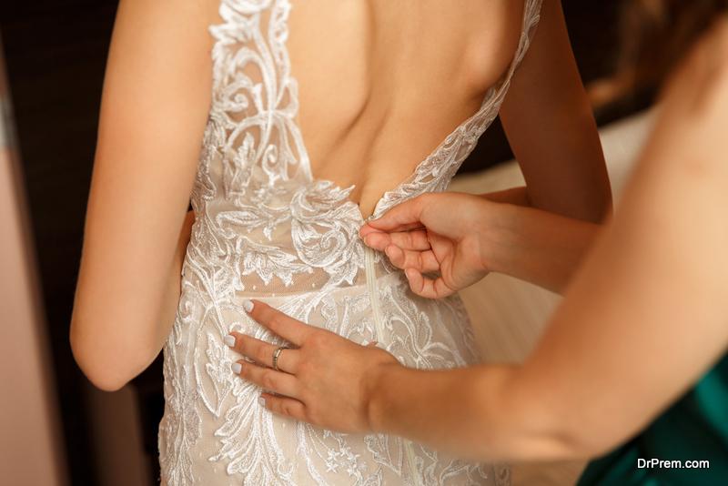 wedding dress TRIAL