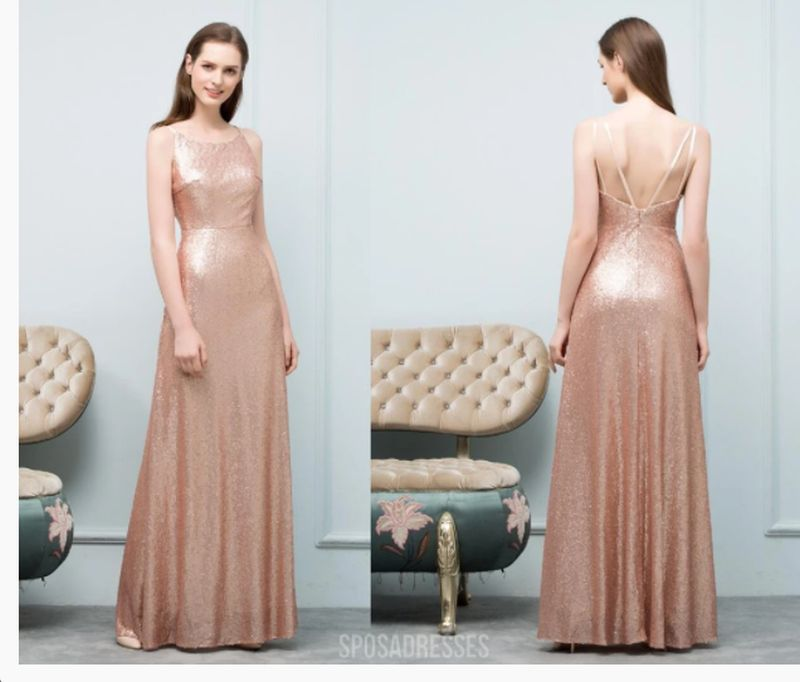 Rose Gold Bridesmaid Dresses