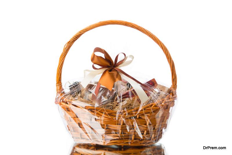 Guests love gift basket