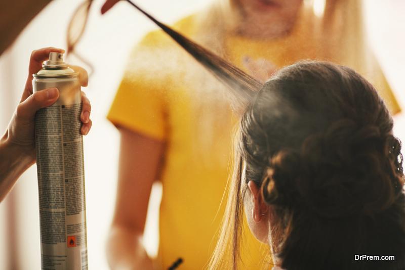 Hairspray Finish