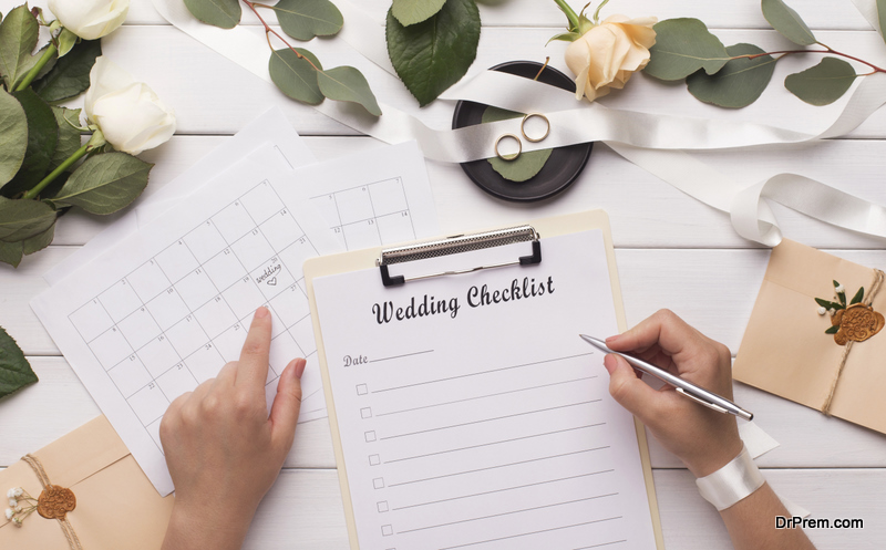 Micro-wedding Planning Checklist and Tips