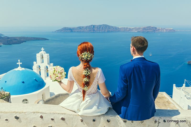 Santorini The Ideal Wedding Destination